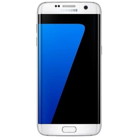 "Grade A1 Samsung Galaxy S7 Edge White 5.5"" 32GB 4G Unlocked & SIM Free"