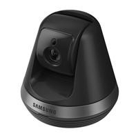 Samsung Smart Home Camera Full HD Compact Indoor Security Auto Tracking Pan/tilt Camera CCTV Baby Monitor with Two-Way Audio & Motion Detect  - Black