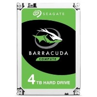 "Seagate BarraCuda 4TB Desktop 3.5"" Hard Drive"