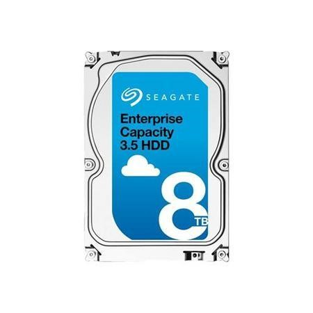 "Seagate Exos 8TB E-Class Nearline Enterprise SAS 3.5"" 512E Hard Drive"