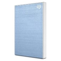 Seagate External 4TB Plus Portable USB-3 Hard Drive - Blue