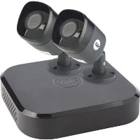 Yale CCTV System - 4 Channel 4MP DVR with 2 x 4MP Weatherproof Cameras & 1TB HDD