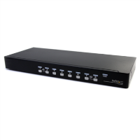8 Port USB Console KVM Switch with Audio