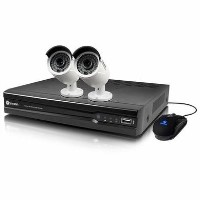Swann CCTV System - 4 Channel 4MP NVR with 2 x 4MP Super HD Cameras & 1TB HDD