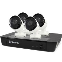 Swann CCTV System - 8 Channel 5MP NVR with 4 x 5MP Cameras & 2TB HDD