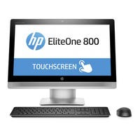 HP EliteOne 800 G2 Core i5-6500 8GB 256GB SSD DVD-RW Windows 10 Professional All In One Desktop