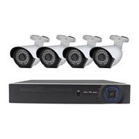 electriQ CCTV System - 4 Channel 1080p DVR with 4 x 1080p Bullet Cameras & 1TB HDD