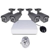 electriQ CCTV System - 4 Channel 1080p with 4 x Bullet Cameras & 1TB HDD