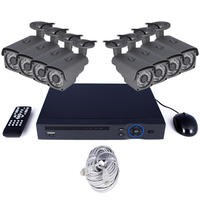electriQ CCTV System - 8 Channel 1080p with 8 x Bullet Cameras & 2TB HDD