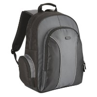 "Targus Essential 15.6"" Laptop Backpack in Black/Grey"