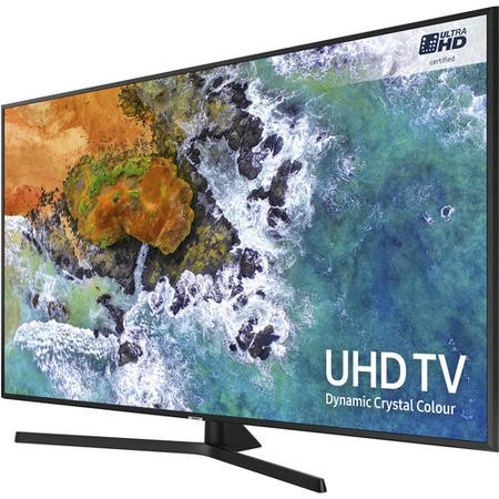 "Samsung UE43NU7400 43"" 4K Ultra HD HDR LED Smart TV with Freeview HD and Freesat"