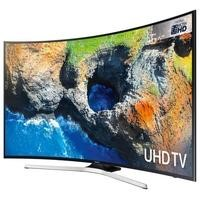 "GRADE A1 - Samsung UE49MU6200 49"" 4K Ultra HD HDR Smart Curved LED TV"