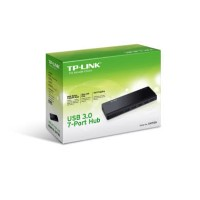 TP-Link USB 3.0 7-Port Hub with UK power adaptor and 1m USB 3.0 cable