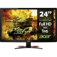 "GRADE A1 - Acer G246HLF 24"" HDMI Full HD 1ms Gaming Monitor"