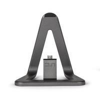 Veho DS-1 Charge and Sync Docking Station for Android Smartphone with 1.5m Micro USB Cable - Aluminium Grey