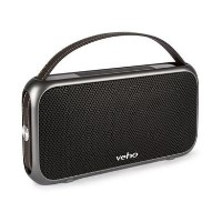 Veho M-7 Mode Portable Water Resistant Bluetooth Speaker with Built-in Power Bank