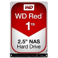 "Box Open WD Red 1TB 2.5"" NAS Hard Drive"