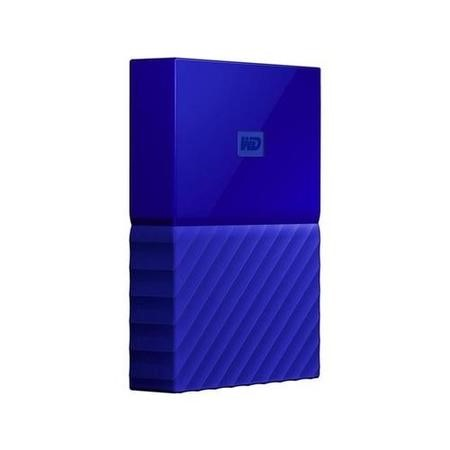 Western Digital My Passport 4TB Portable Hard Drive in Blue