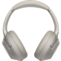 SONY Wireless Bluetooth Noise-Cancelling Headphones - Silver