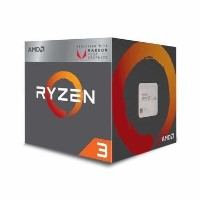 AMD Ryzen 3 2200G Socket AM 4 3.5GHz Zen Processor With Radeon RX Vega 8 Graphics