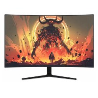 "electriq 32"" QHD HDR 165Hz FreeSync Curved Gaming Monitor"