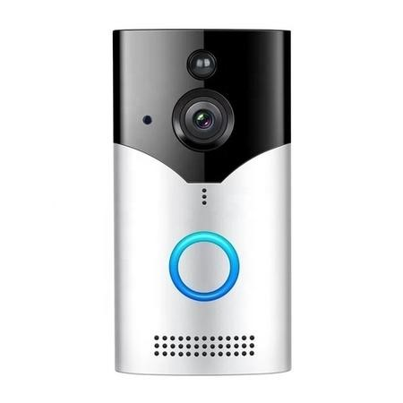 electriQ 720p HD Wireless Video Doorbell Camera with 2 x rechargeable batteries & Chime