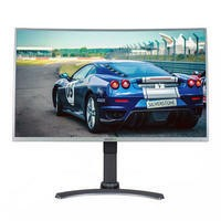 "electriQ 32"" Full HD FreeSync 144Hz Curved Gaming Monitor"