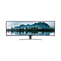 "electriQ 49"" QLED Double FHD Super UltraWide FreeSync HDR Curved Monitor"