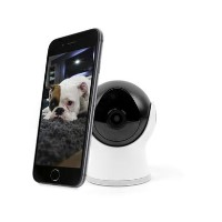 electriQ 720p HD Wifi Mini Camera with 2-way audio & dedicated App