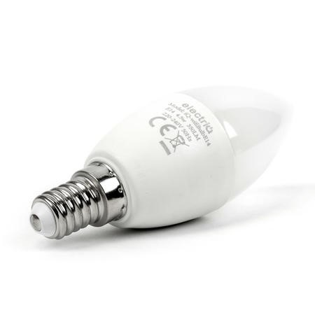electriQ Smart dimmable colour Wifi Bulb with E14 screw ending - Alexa & Google Home compatible