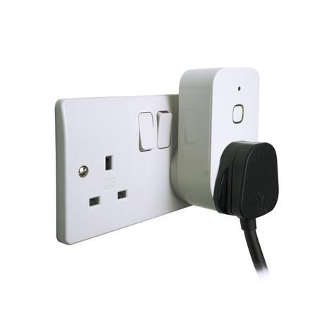 electriQ Smart Plug with power meter for energy monitoring - Alexa/Google Home compatible