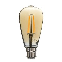 electriQ Smart dimmable Wifi filament bulb with B22 bayonet fitting