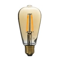 electriQ Smart dimmable Wifi filament bulb with E27 screw fitting