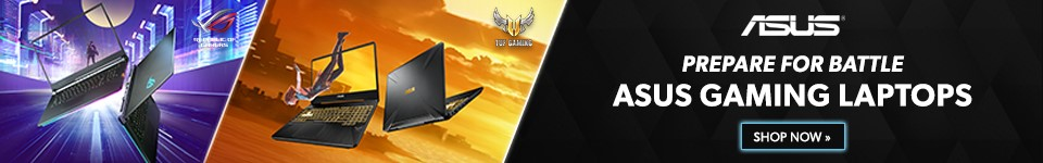 ASUS Gaming Laptops Deals Banner