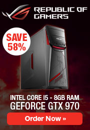 Asus G11CD promotion