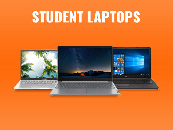 student laptop deals category banner.