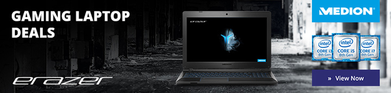 Medion gaming laptop banner