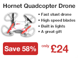 The Hornet Quadcopter Drone